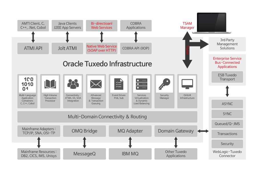 Oracle Tuxedo Infrastructure
